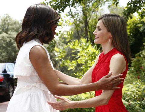 Michelle Obama Letizia