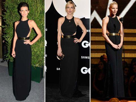 Shoulder, Joint, Dress, Formal wear, Waist, Style, Fashion, Beauty, Neck, One-piece garment,
