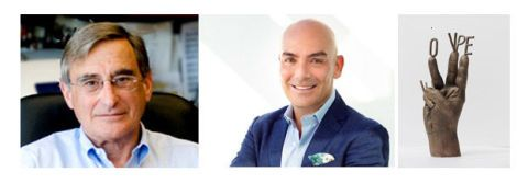 Douglas D. Richman y Kike Sarasola, de Room Mate Hotels