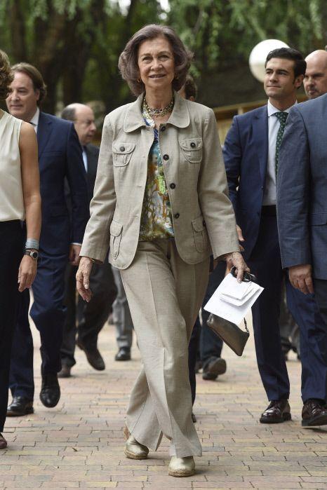 Reina Sofía en una imagen de archivo