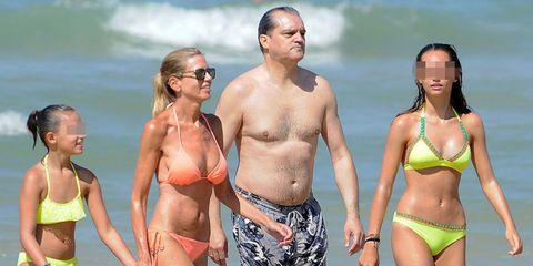 Clothing, Fun, People, Brassiere, Human body, Swimwear, Bikini, Swimsuit top, People on beach, Photograph,