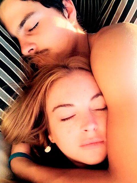 Lindsay Lohan y Egor Tarabasov