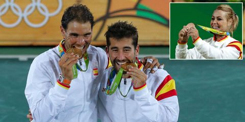 Rafa Nadal, Marc López y Lidia Valentín, medallistas en Río 2016