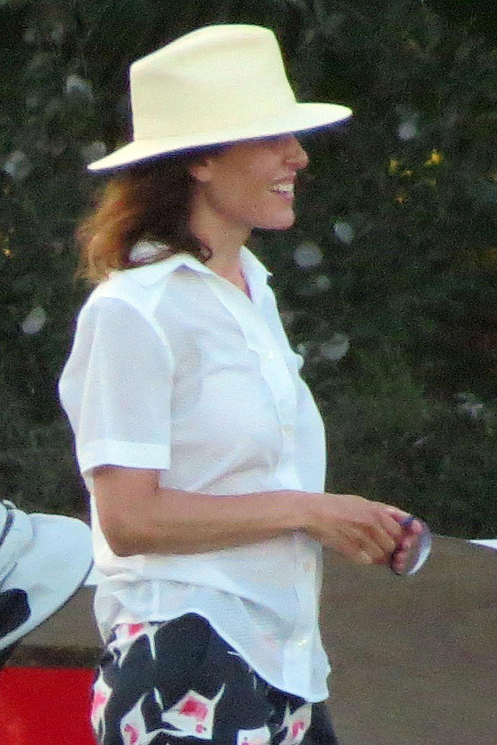 Raquel Sánchez Silva en Sotogrande, Cádiz