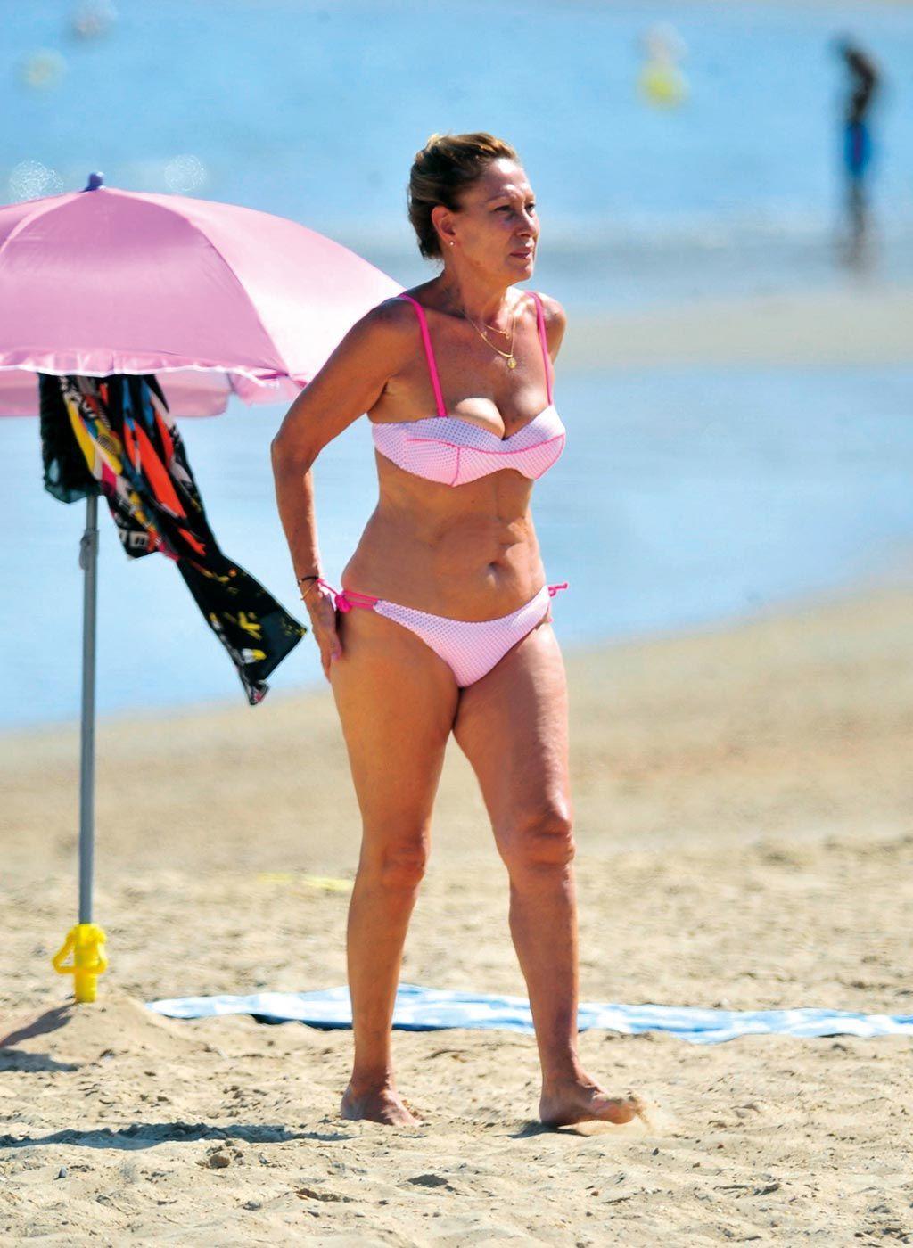 Cuerpazo Rosa Benito Fotos En Playa Wwwimagenesmicom