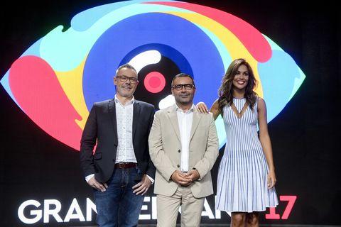 Jorge Javier Vazquez, Jordi Gonzalez y Lara Álvarez