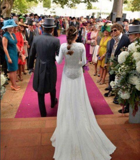 lourdes montes vuelve a vestirse de novia
