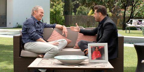 David Bustamante con Bertín Osborne en 'Mi casa es la tuya'