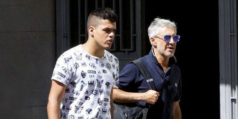 Sergio Dalma con su hijo, Sergi Capdevila.