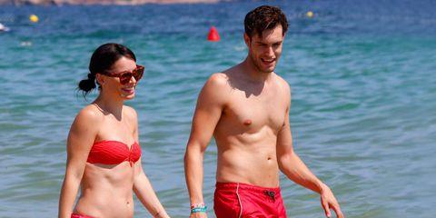 Soraya Arnelas y Miguel Ángel Herrera en Ibiza