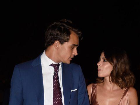 Pepe Barroso Jr. y Martina  Stoessel en la Fiesta de nominados de Los 40 Principales en Madrid