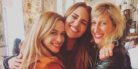 Marta Hazas, Paula Echevarría y Cecilia Freire. Instagram