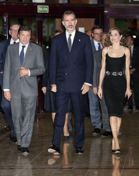 Los reyes Felipe y Letizia en Oviedo