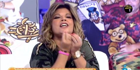 Terelu Campos en 'Sálvame'. Telecinco