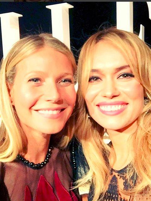 Gwyneth Paltrow y Patricia Conde. Instagram
