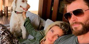 Elsa Pataky y Chris Hemsworth. Instagram