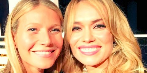 Gwyneth Paltrow y Patricia Conde