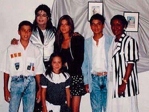 Tamara Falcó con Michael Jackson. Instagram