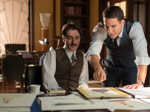 Dress shirt, Table, Job, Employment, White-collar worker, Shelf, Desk, Publication, Lamp, Tie,