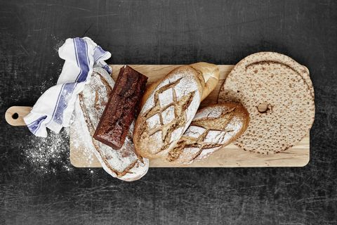 Food, Finger food, Ingredient, Bread, Breakfast, Baked goods, Snack, Staple food, Gluten, Sliced bread,