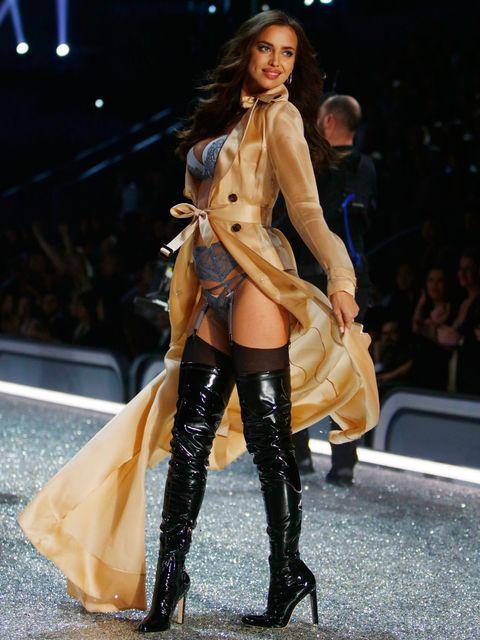 Clothing, Leg, Human, Human body, Human leg, Fashion show, Shoe, Joint, High heels, Outerwear,