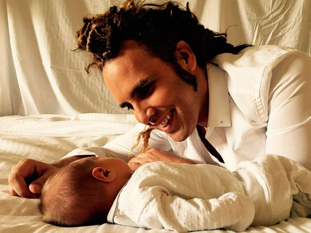 Torito con su hijo Nathan