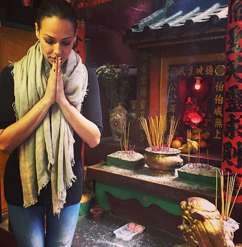 Joss stick, Incense, Jeans, Denim, Stole, Scarf, Home fragrance, Decoration, Shawl, Temple,