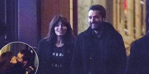Marta Fernández con su nuevo novio