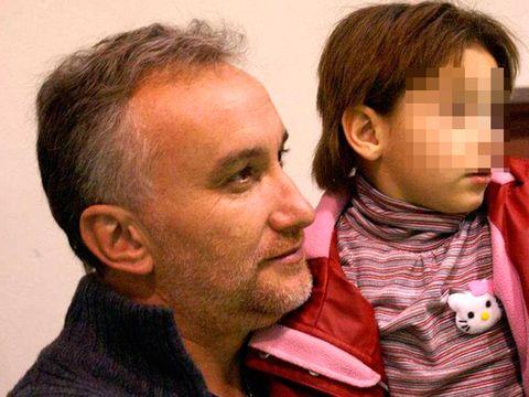 Fernando Blanco y su hija Nadia