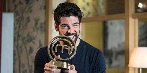 Facial hair, Trophy, Moustache, Beard, Brass, Award,