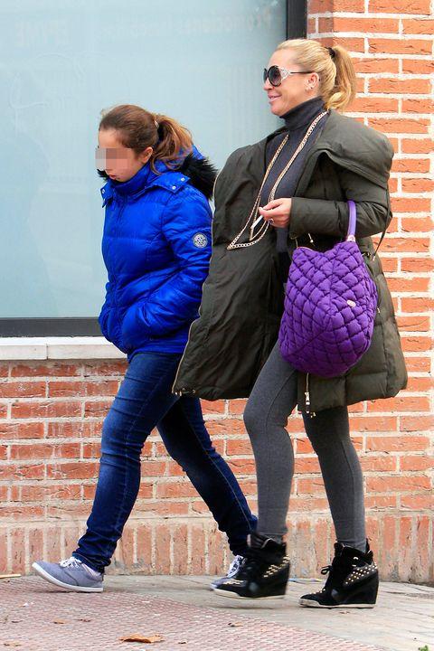 Belén Esteban y su hija Andrea