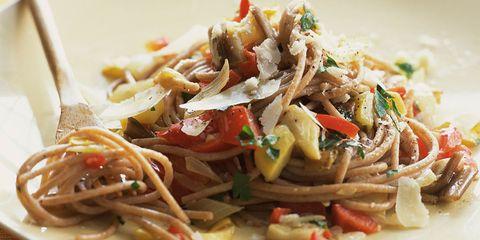 ensalada de pasta para dieta disociada menuda