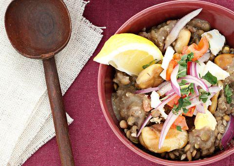 receta habas guisadas a la egipcia