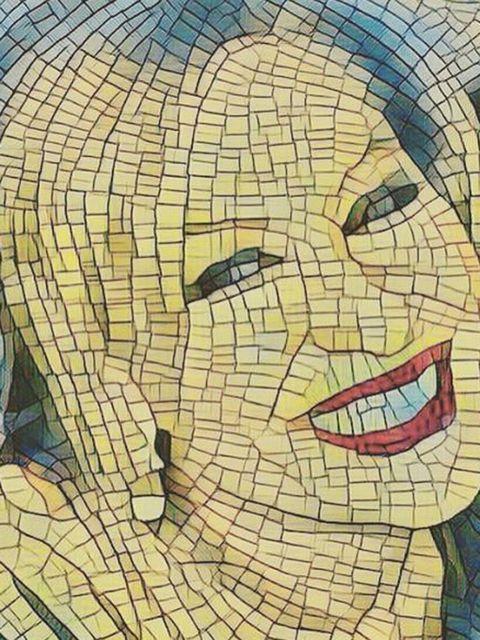 Lip, Cheek, Chin, Forehead, Eyebrow, Happy, Facial expression, Organ, Art, Temple,