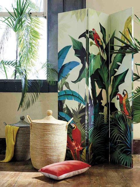 biombo Maisons de Monde tropical