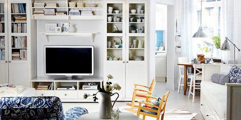 hogar salón verano cambio decoración