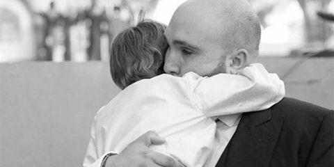 Child, Comfort, Interaction, Love, Kiss, Monochrome, Monochrome photography, Toddler, Hug, Black-and-white,