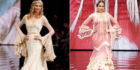 Textile, Formal wear, Dress, Pink, Gown, Style, Costume design, Fashion, Embellishment, Fashion model,