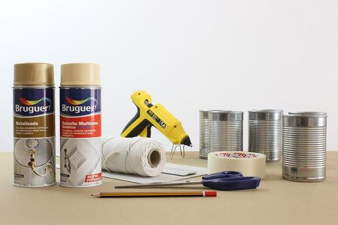 Office supplies, Household supply, Cylinder, Aluminium, Plastic, Gaffer tape, Label, Home accessories, Adhesive, Paper product,