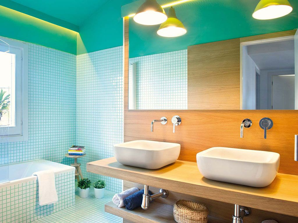 decoracion-con-espejos-bano