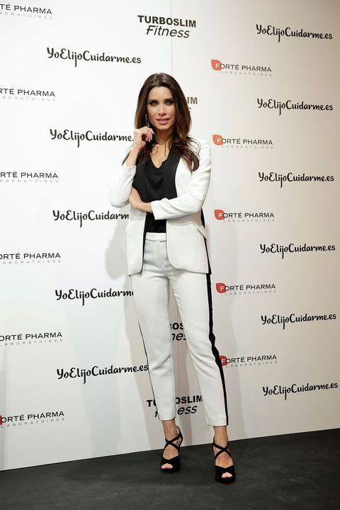 Product, Sleeve, Style, Street fashion, Suit trousers, Knee, Fashion model, Waist, Fashion design, High heels,
