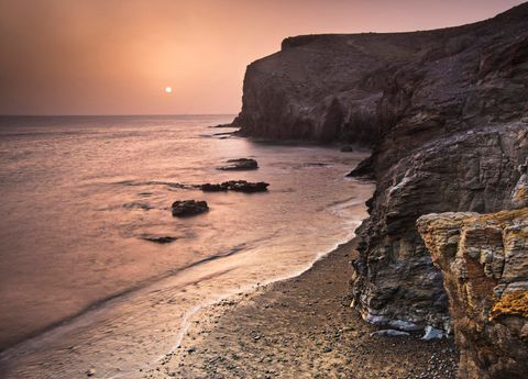 Body of water, Sky, Sea, Coast, Nature, Shore, Rock, Ocean, Beach, Cliff,