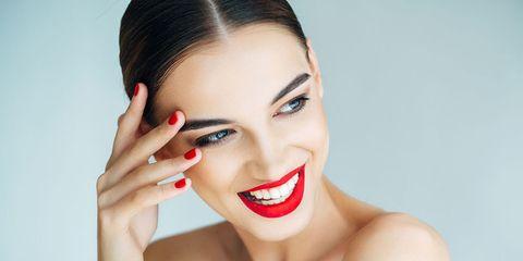 labios rojos disimulan las ojeras