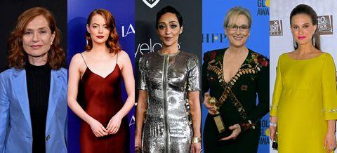 Nominadas Mejor actriz Oscar 2017
