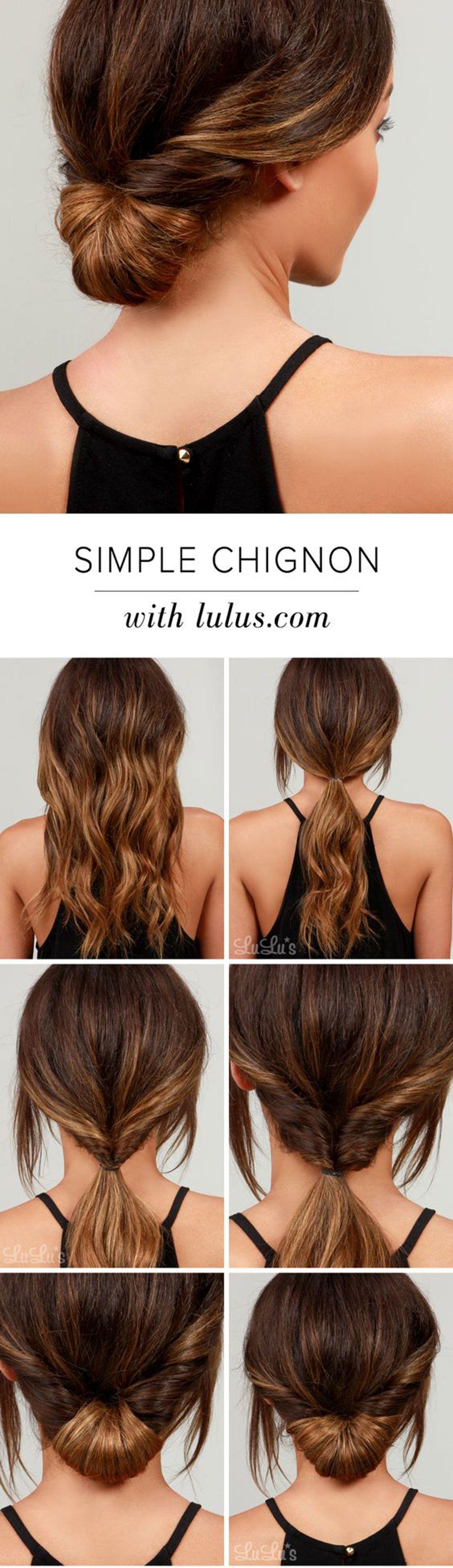 12 Peinados Faciles Para El Verano En Pinterest