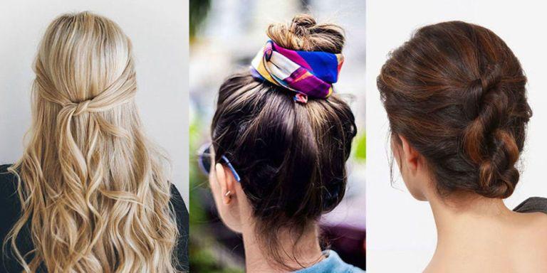 Súper fácil peinados pinterest Fotos de cortes de pelo tutoriales - 12 peinados fáciles para el verano en Pinterest