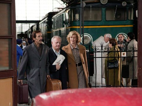 Transport, Rolling stock, Public transport, Train, Railway, Railroad car, Classic, Varnish, Passenger, Baggage,