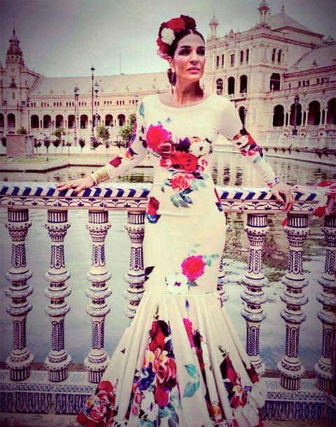 Dress, Petal, Pink, Gown, Formal wear, Tradition, Lipstick, Purple, Wedding dress, Bridal clothing,