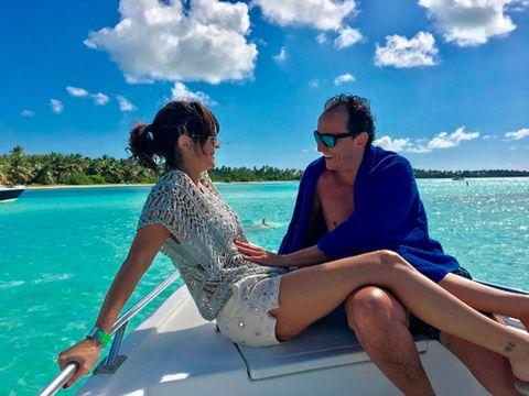 Vacation, Fun, Honeymoon, Leisure, Summer, Sky, Caribbean, Tropics, Sea, Luxury yacht,