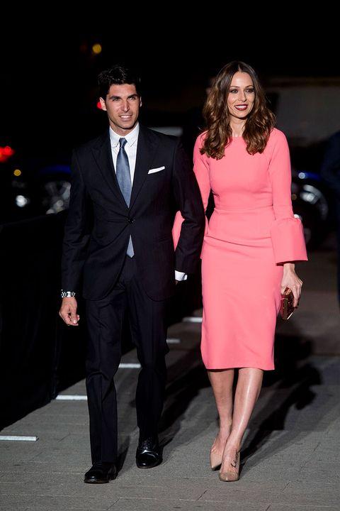 Suit, Clothing, Formal wear, Fashion, Dress, Event, Tuxedo, Footwear, Premiere, Outerwear,